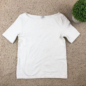 Wolford Cotton Velvet Short sleeve shirt top tee